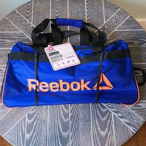 NWT Reebok Warrior II Medium Duffel Bag